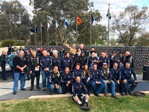 2016 Wall to Wall Police Ride for Remembrance