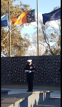 National Police Remembrance Day 2016 – Canberra
