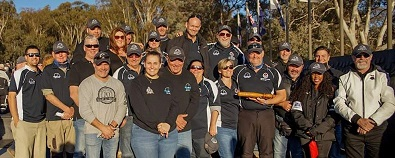 NT Long Riders and Friends National Police Memorial supporting NT Police Legacy 2019